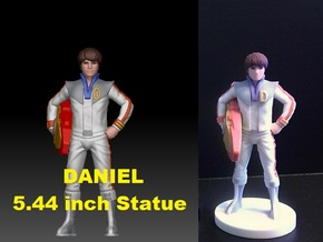 Daniel homage Space Boy 5.44inch Full Color Statue in Full Color Sandstone