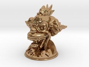 Joker  in Polished Brass