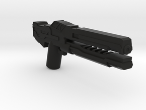 Electron Mass Rifle  in Black Natural Versatile Plastic