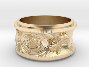 Karp in 14K Yellow Gold