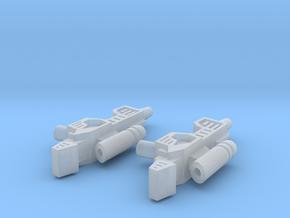 Sunlink - Stylish Head Guns - v1 in Smooth Fine Detail Plastic