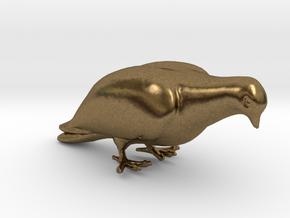 Bird No. 1 (Dove) in Natural Bronze