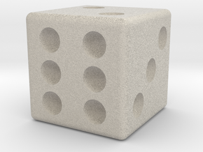 16mm Die in Natural Sandstone