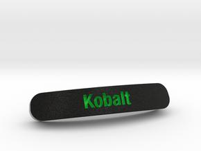 Kobalt Nameplate for SteelSeries Rival in Full Color Sandstone