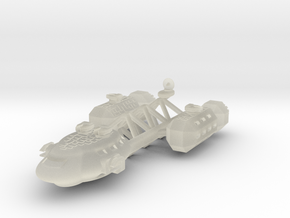 Telgar Frigate in Transparent Acrylic