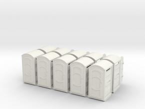 Porta Pot X10 05 21 13 in White Natural Versatile Plastic