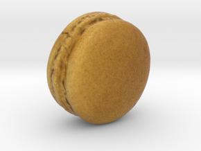 The Coffee Macaron in Full Color Sandstone