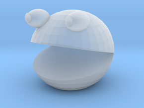 Tinkercad Pacman in Smooth Fine Detail Plastic
