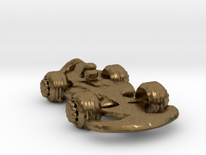 Formula1 Car Own Design in Natural Bronze