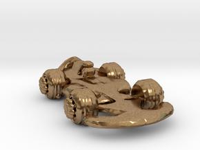Formula1 Car Own Design in Natural Brass