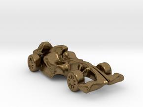 F1Car in Natural Bronze