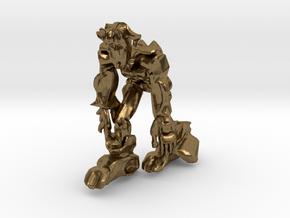 Scar Ape like Robot in Natural Bronze