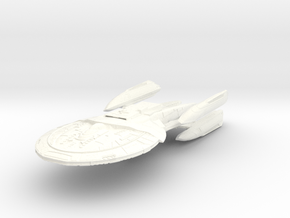 Southmay Class V  BattleCruiser in White Processed Versatile Plastic