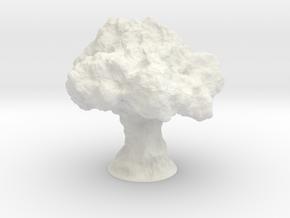 Nuke Lamp in White Natural Versatile Plastic