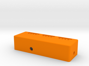 Pinball - Voltage Test / Mod Box (1 of 2) in Orange Processed Versatile Plastic