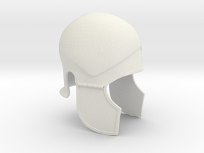 Attic Helmet in White Natural Versatile Plastic