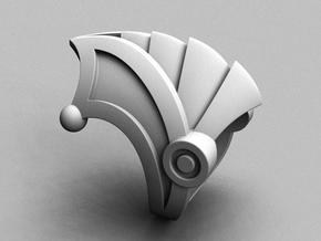 Armor 2 - Size 11 1/2 (21.08 mm) in Polished Silver
