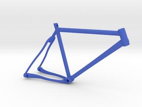 Bike Pendant in Blue Processed Versatile Plastic