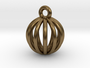 Earring01 in Natural Bronze