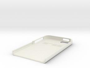 Iphone 5s 10 Top in White Natural Versatile Plastic