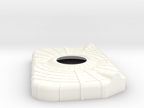 Apollo SM Aft Heat Shield 1:32 in White Processed Versatile Plastic