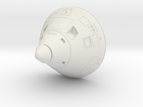 Apollo Command Module 1:32 in White Strong & Flexible