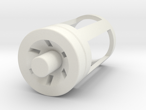 Blade Plug - Graflex in White Natural Versatile Plastic