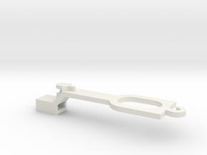 Ersatzteil Lima-EW1 Kurzkupplung (H0 1:87) in White Natural Versatile Plastic