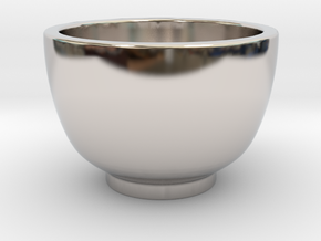 Coffee Cup in Platinum
