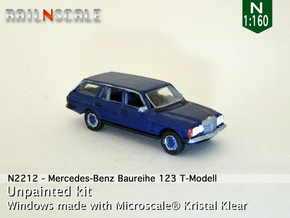 Mercedes-Benz T-Modell (N 1:160) in Smooth Fine Detail Plastic
