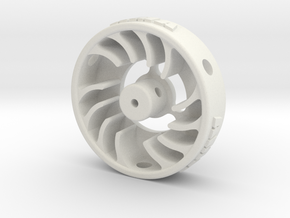Mini-Z Motor Break-In Fan Std in White Natural Versatile Plastic