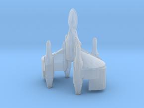 Gunstar X-wing Stylized in Smooth Fine Detail Plastic