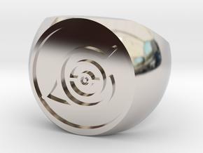 Naruto Ring in Platinum