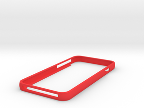 Iphone 6 Minimalist Case in Red Strong & Flexible Polished