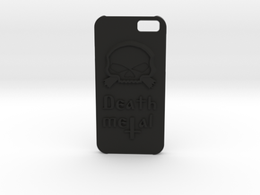 \m/ Iphone6 case in Black Natural Versatile Plastic