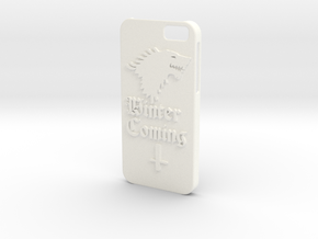 Game of Thrones Iphone6 case in White Strong & Flexible Polished