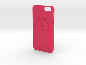 Iphone6 Darth case in Pink Processed Versatile Plastic