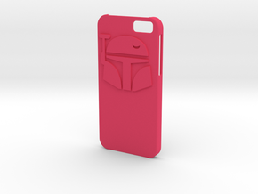 Iphone6 Bounty Hunter case in Pink Strong & Flexible Polished