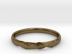 Shadow Ring US Size 6 UK Size M in Natural Bronze