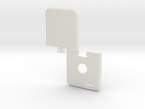 IPhone6 Two Part in White Natural Versatile Plastic