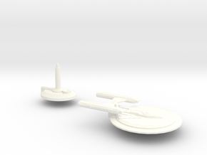 USS Cogent in White Strong & Flexible Polished