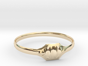 Triss Ring US Size 8 UK Size Q in 14K Yellow Gold