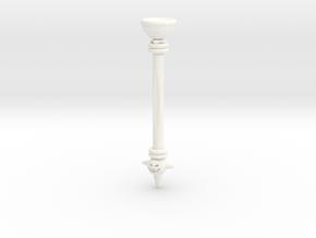 Bowser Stylus in White Processed Versatile Plastic