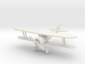 Nieuport 28, 1:144th Scale in White Natural Versatile Plastic
