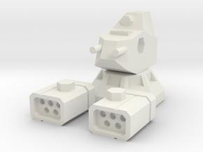 LRM-5 AutoTurret in White Natural Versatile Plastic