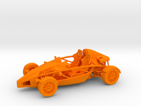 Ariel Atom 1/43 scale LHD no wings in Orange Strong & Flexible Polished