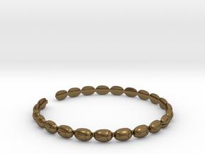 Bracelet - Beetles in Natural Bronze