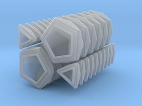 Pentultimate RHOMBIC caps full set in Smooth Fine Detail Plastic