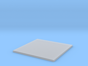 Square in Smooth Fine Detail Plastic
