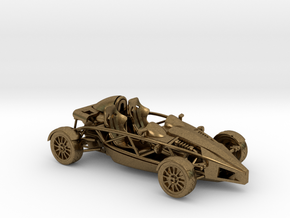 Ariel Atom 1/43 scale RHD no wings in Natural Bronze